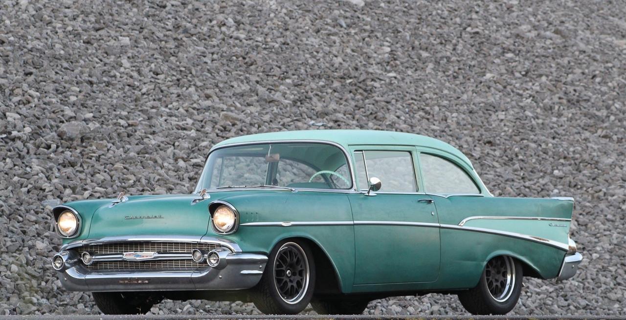 Chevrolet 210 2 Doors Sedan de 1957 en LS1 – Tout ça pour une ceinture… 9