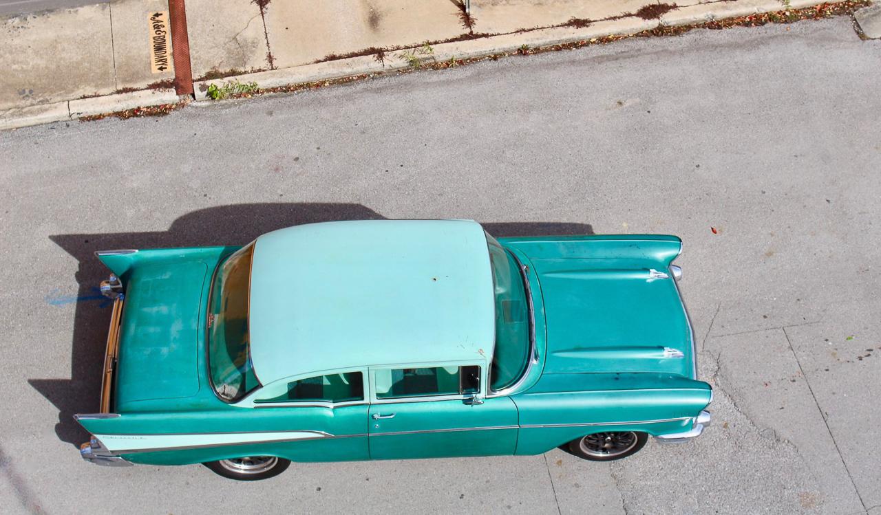 Chevrolet 210 2 Doors Sedan de 1957 en LS1 – Tout ça pour une ceinture… 4