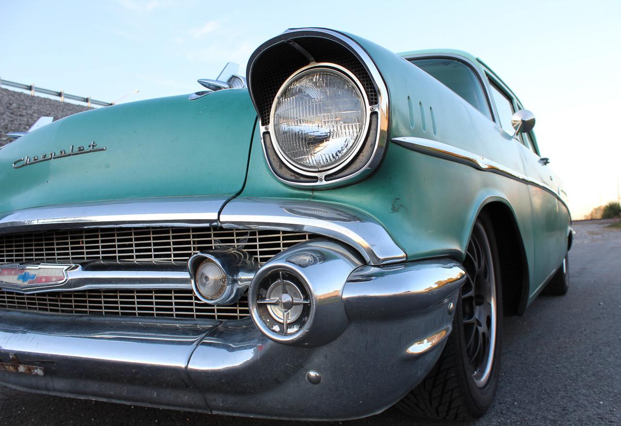 Chevrolet 210 2 Doors Sedan de 1957 en LS1 – Tout ça pour une ceinture… 3