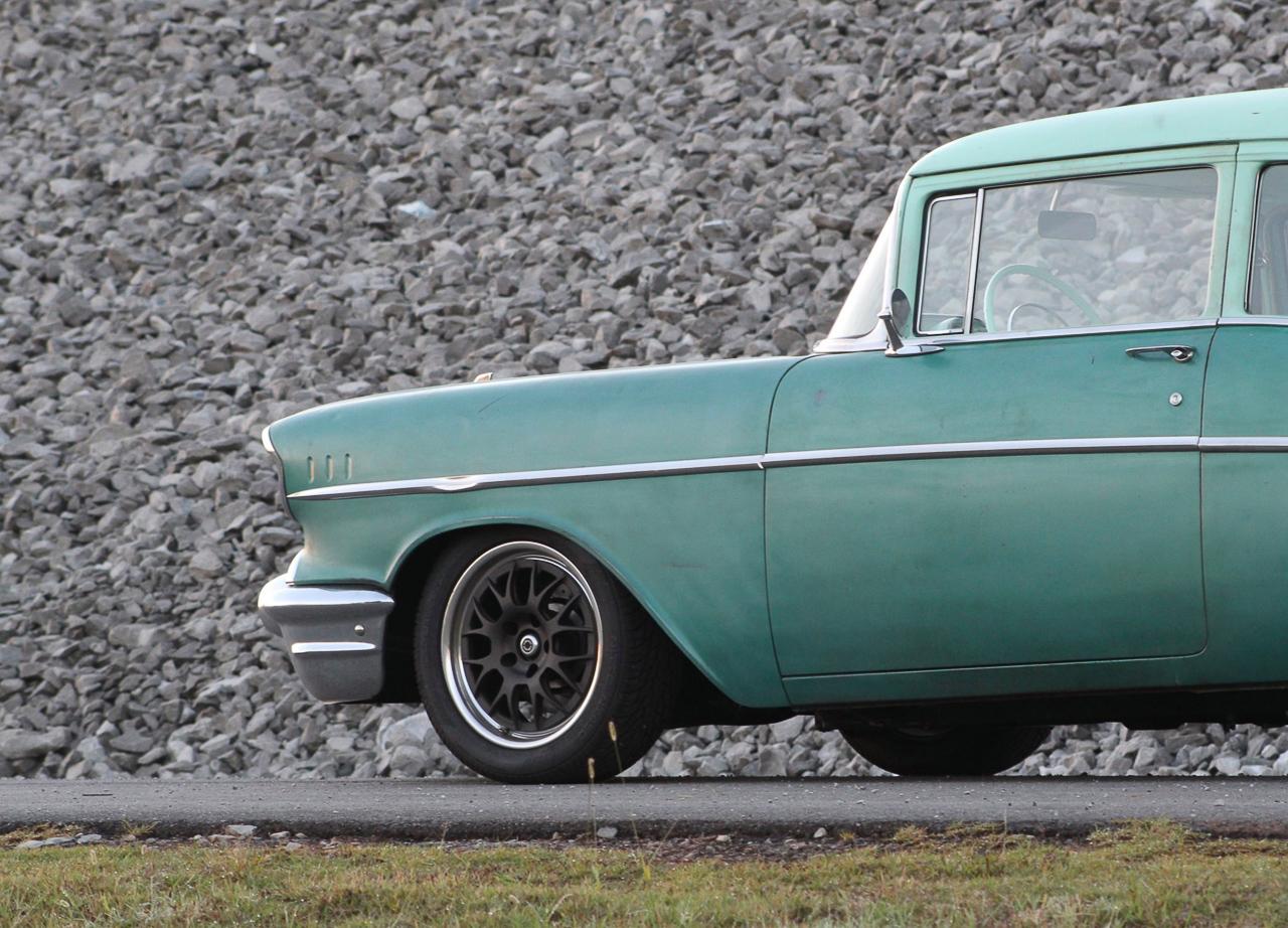 Chevrolet 210 2 Doors Sedan de 1957 en LS1 – Tout ça pour une ceinture… 8