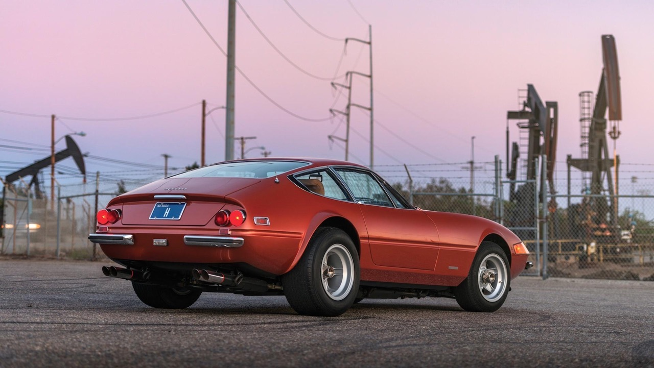 '71 Ferrari Daytona... sauce hot rod ! 15