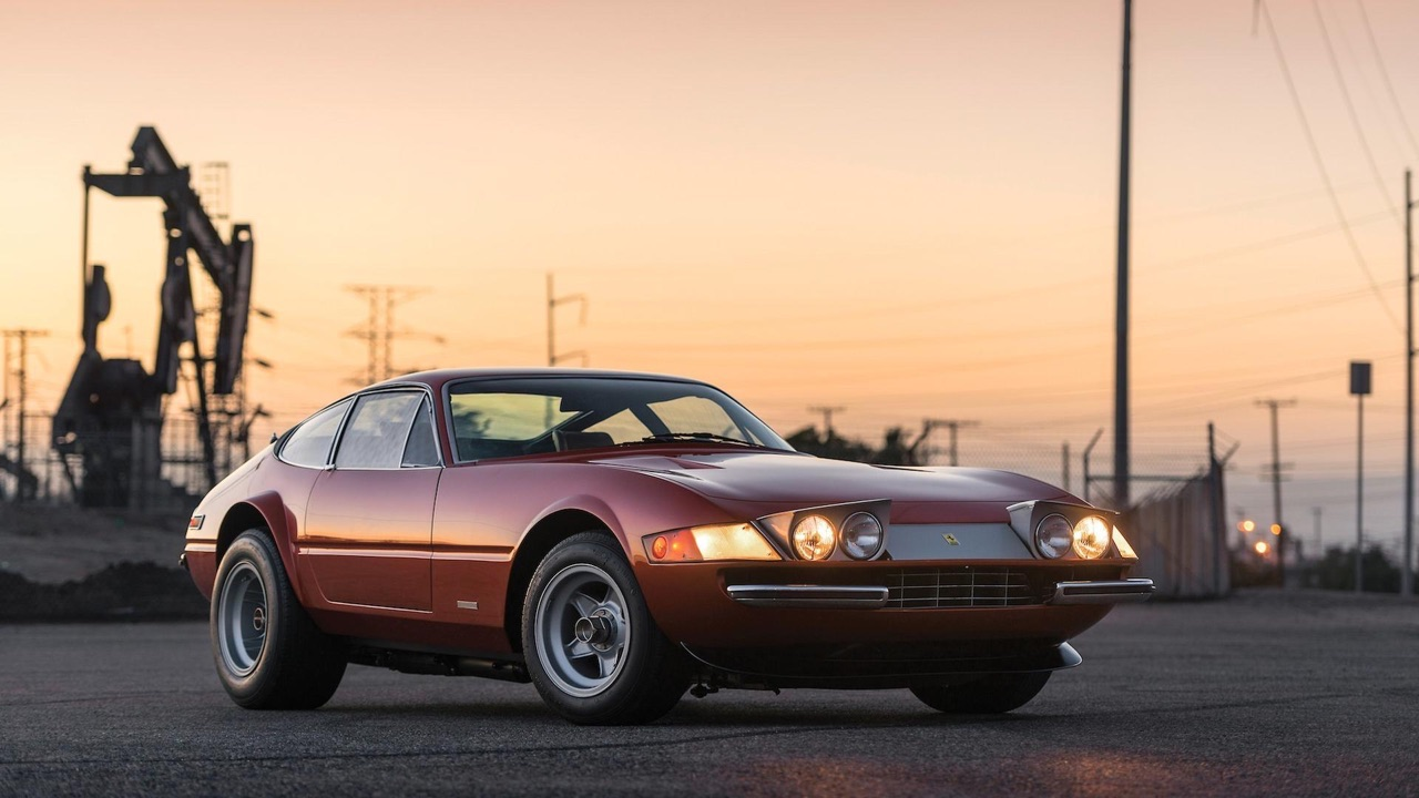 '71 Ferrari Daytona... sauce hot rod ! 3