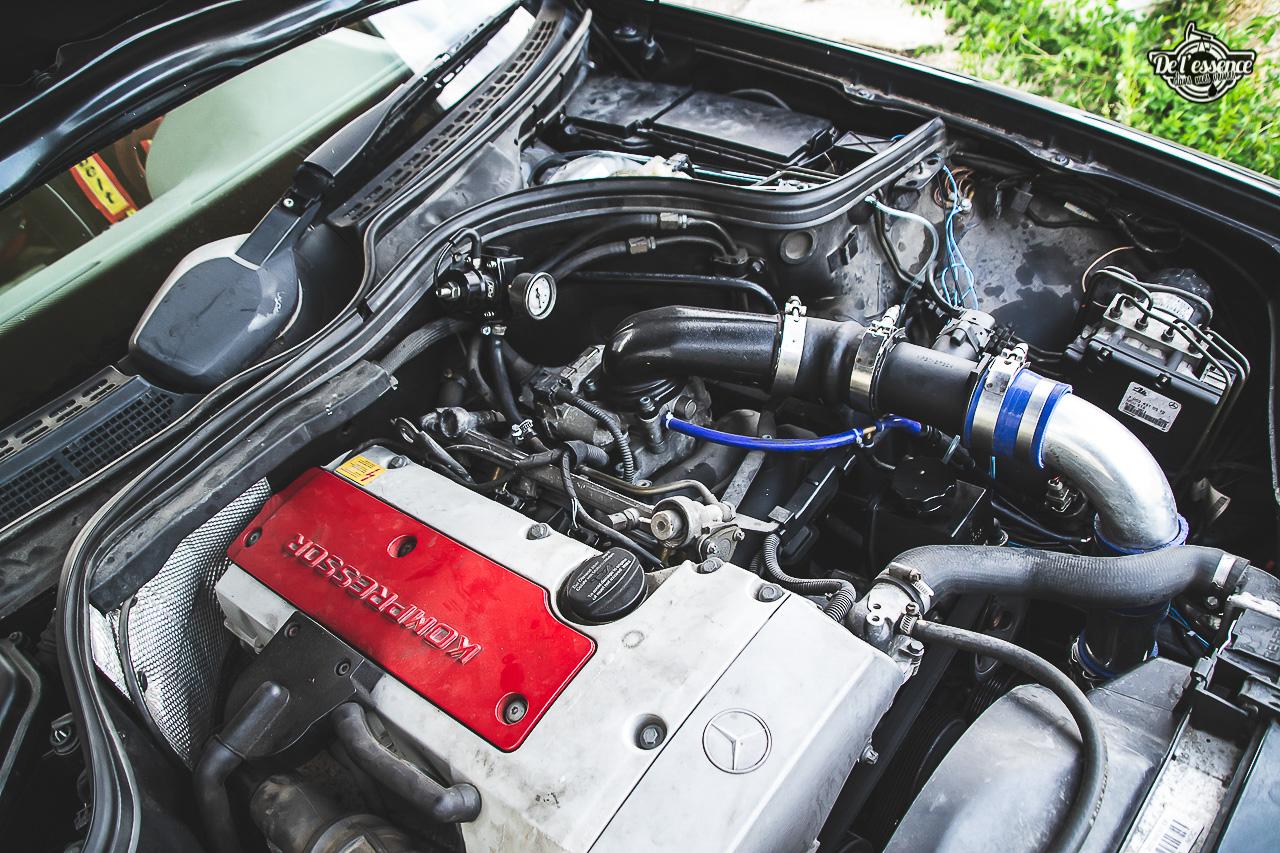 Mercedes CLK 200 Kompressor United Driver : Drifter différent ! 6