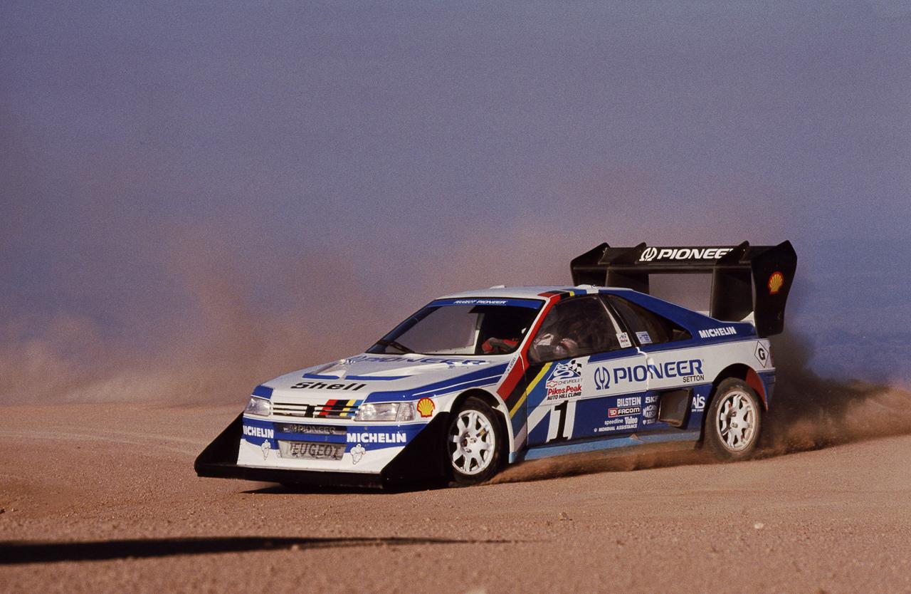 Peugeot 405 T16 Pikes Peak : Au sommet ! 1