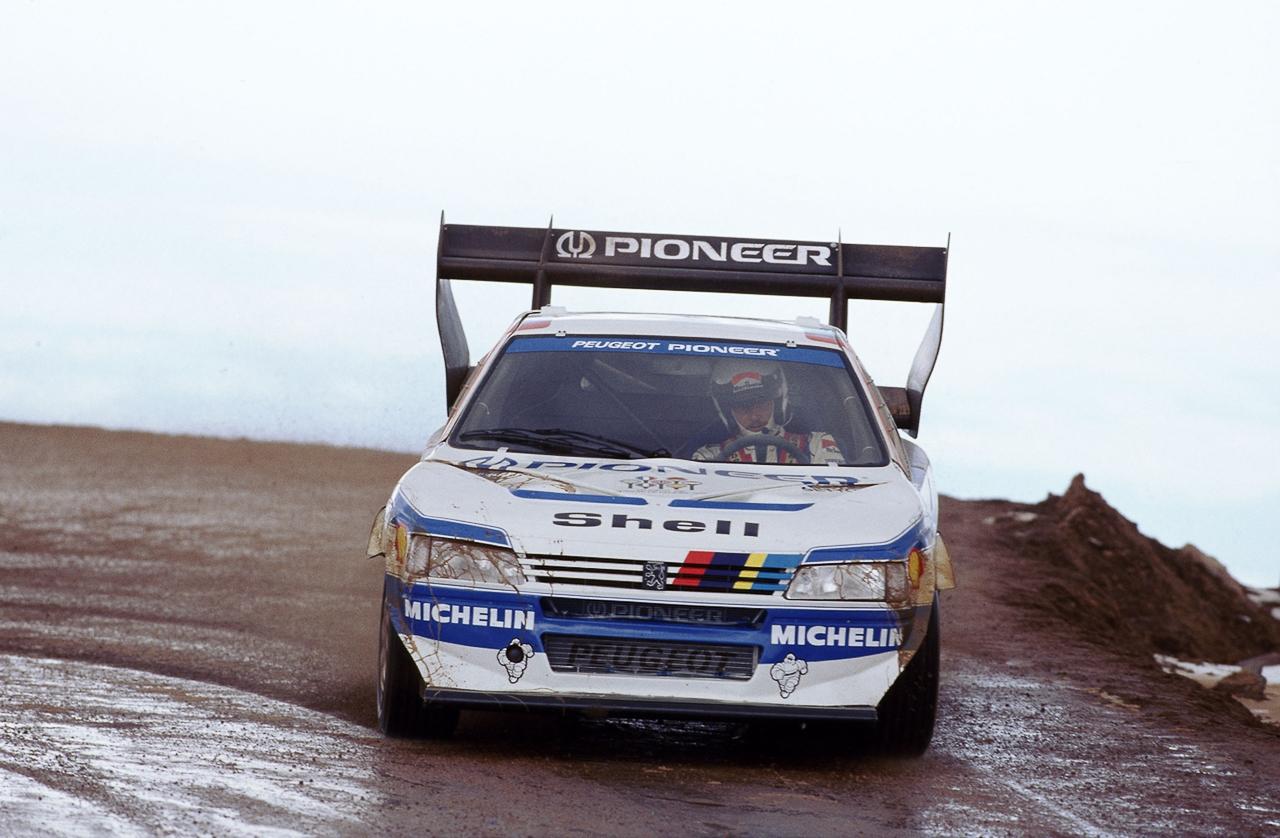 Peugeot 405 T16 Pikes Peak : Au sommet ! 11