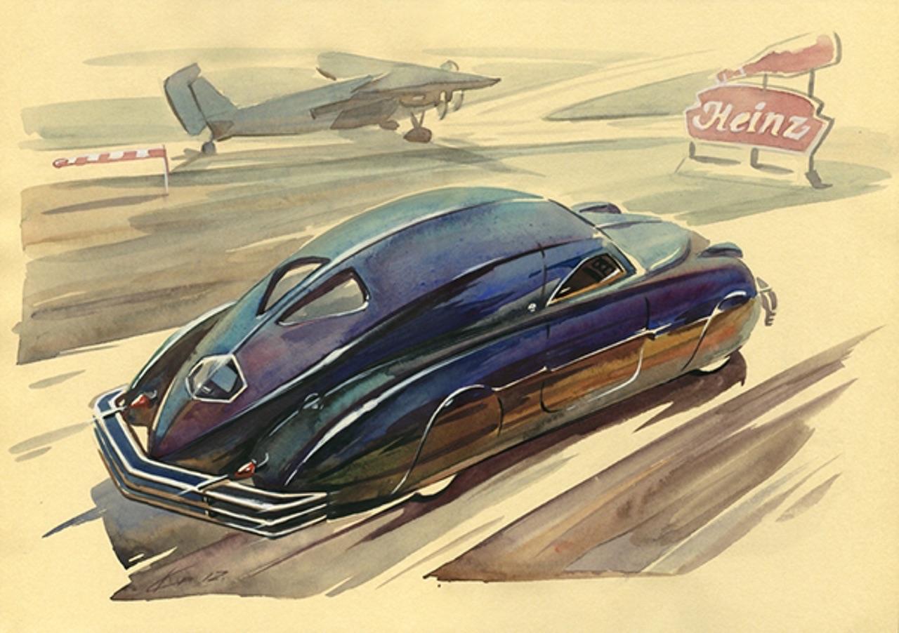 "'38 Phantom Corsair... ""Car of tomorrow"" 2"