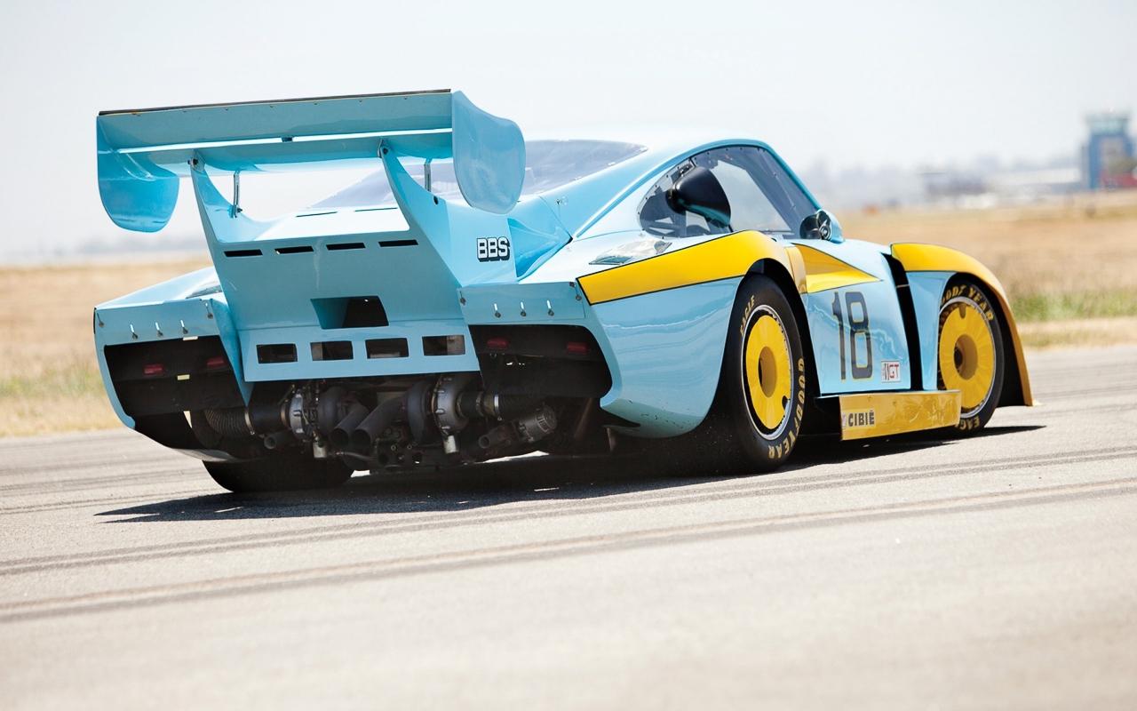 Porsche 935 : Parfois, c'est la baleine qui chasse ! 12