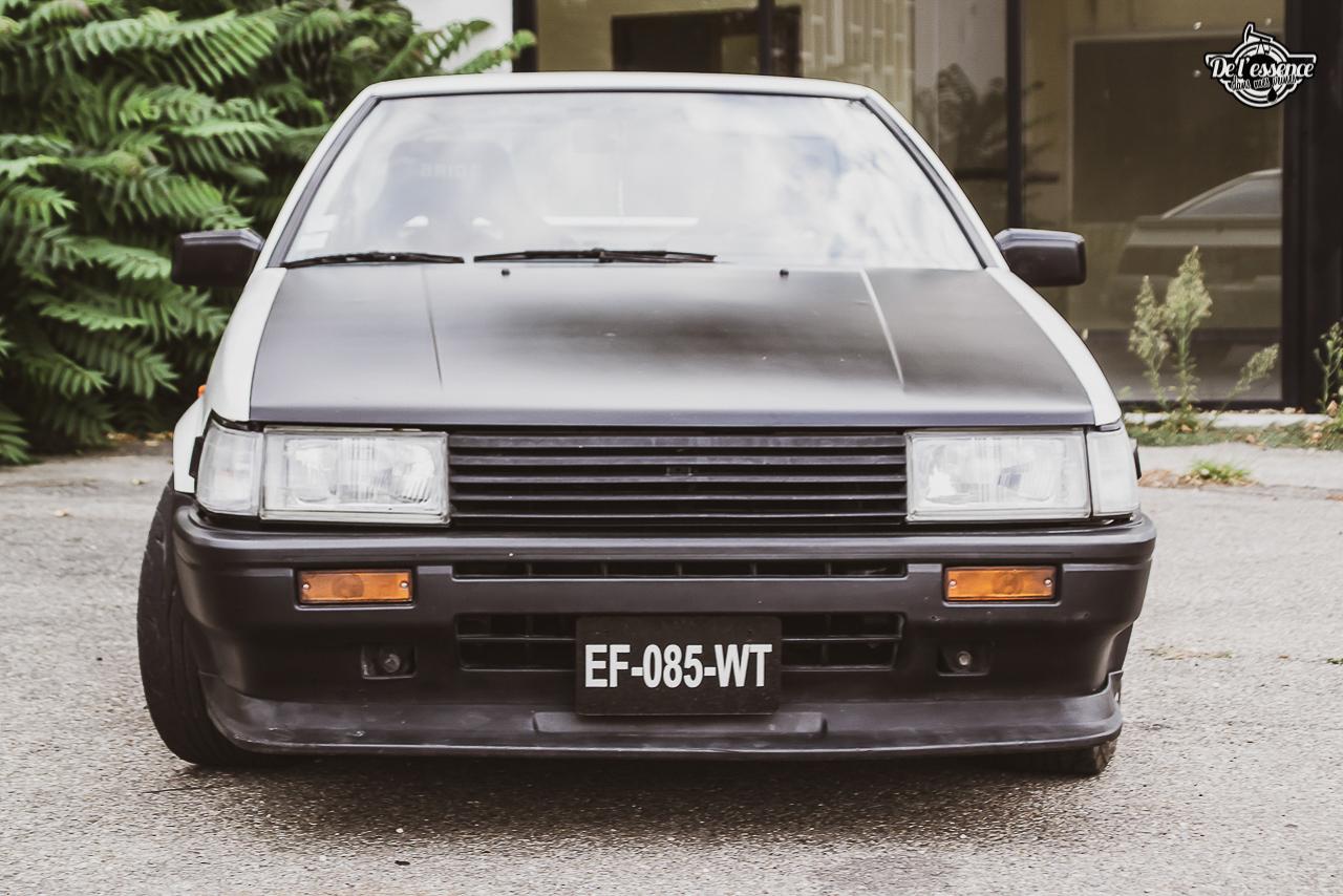Toyota AE86 : L'Hachiroku de Sylvain Fujiwara ! 5