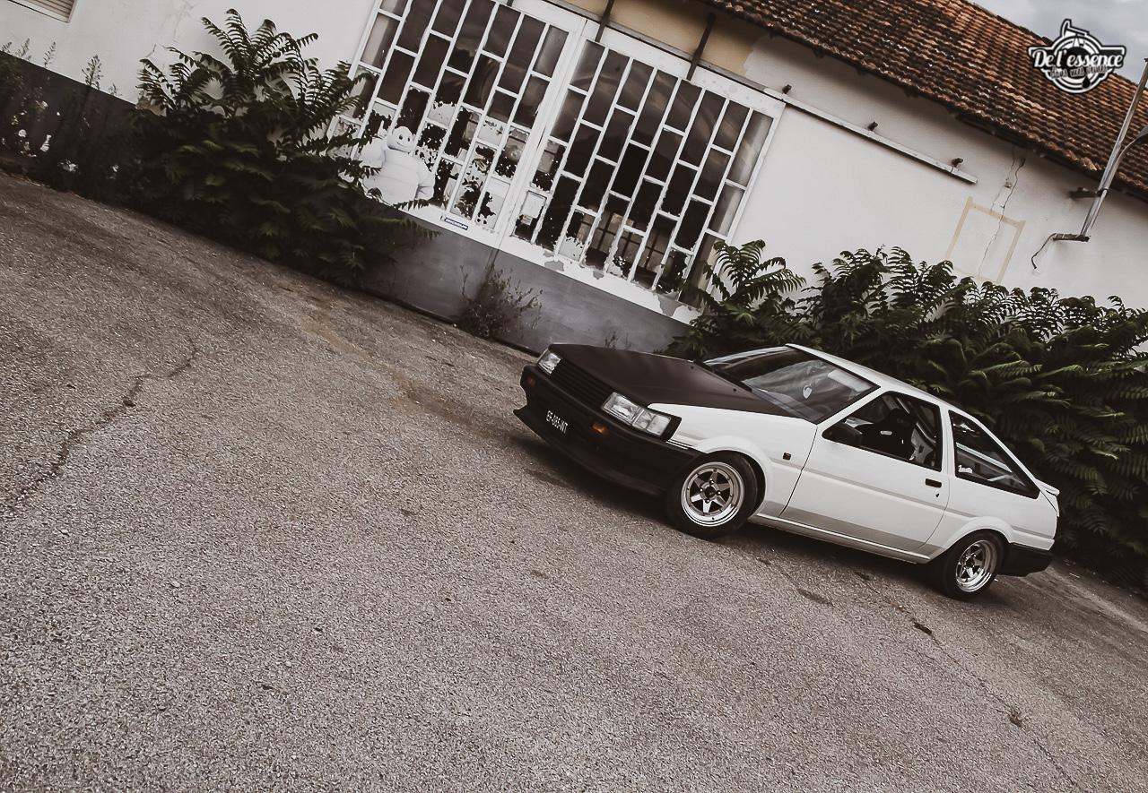 Toyota AE86 : L'Hachiroku de Sylvain Fujiwara ! 2