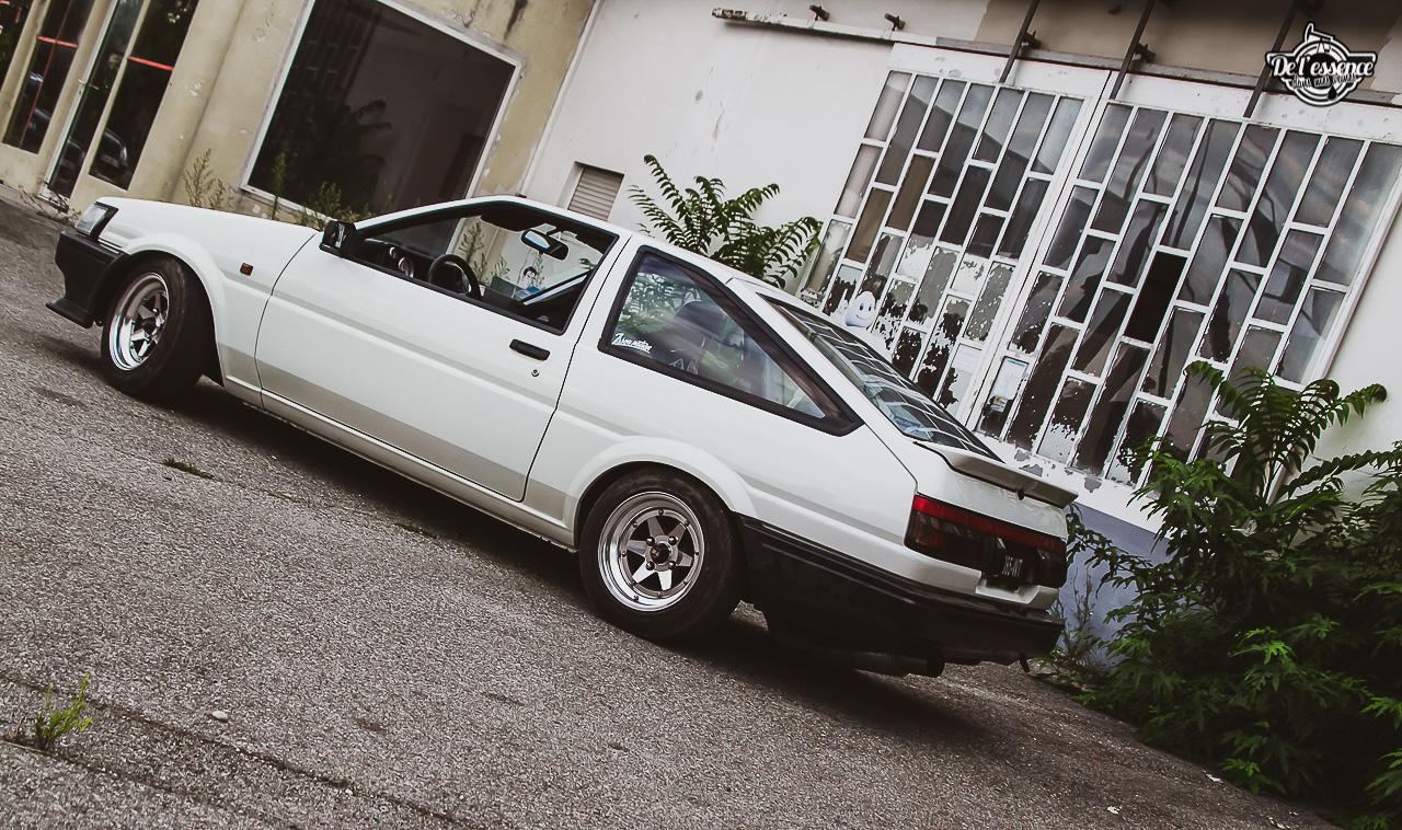 Toyota AE86 : L'Hachiroku de Sylvain Fujiwara ! 3
