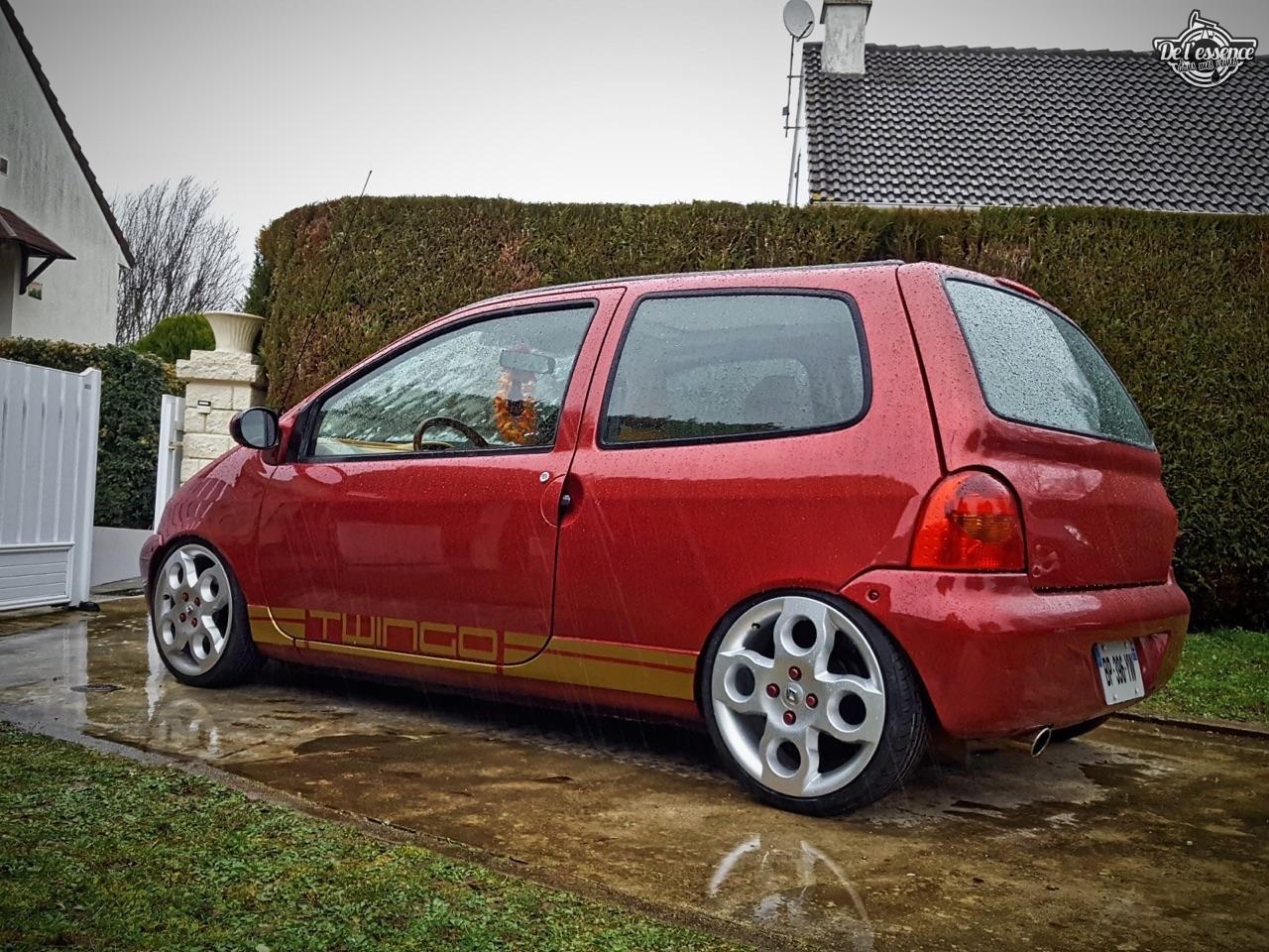 Renault Twingo - En rouge et or ! 1