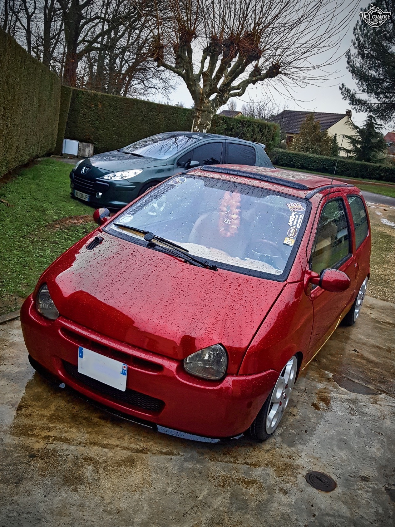 Renault Twingo - En rouge et or ! 2