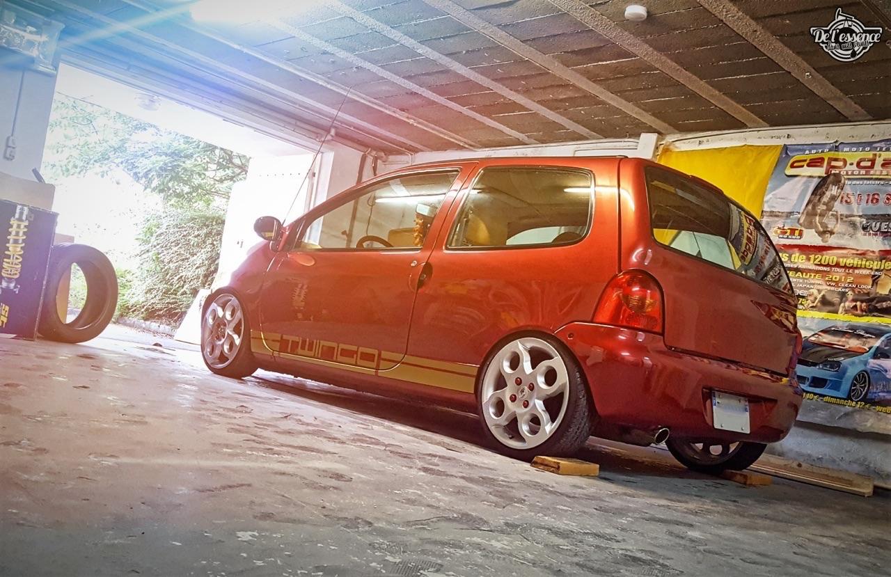 Renault Twingo - En rouge et or ! 5