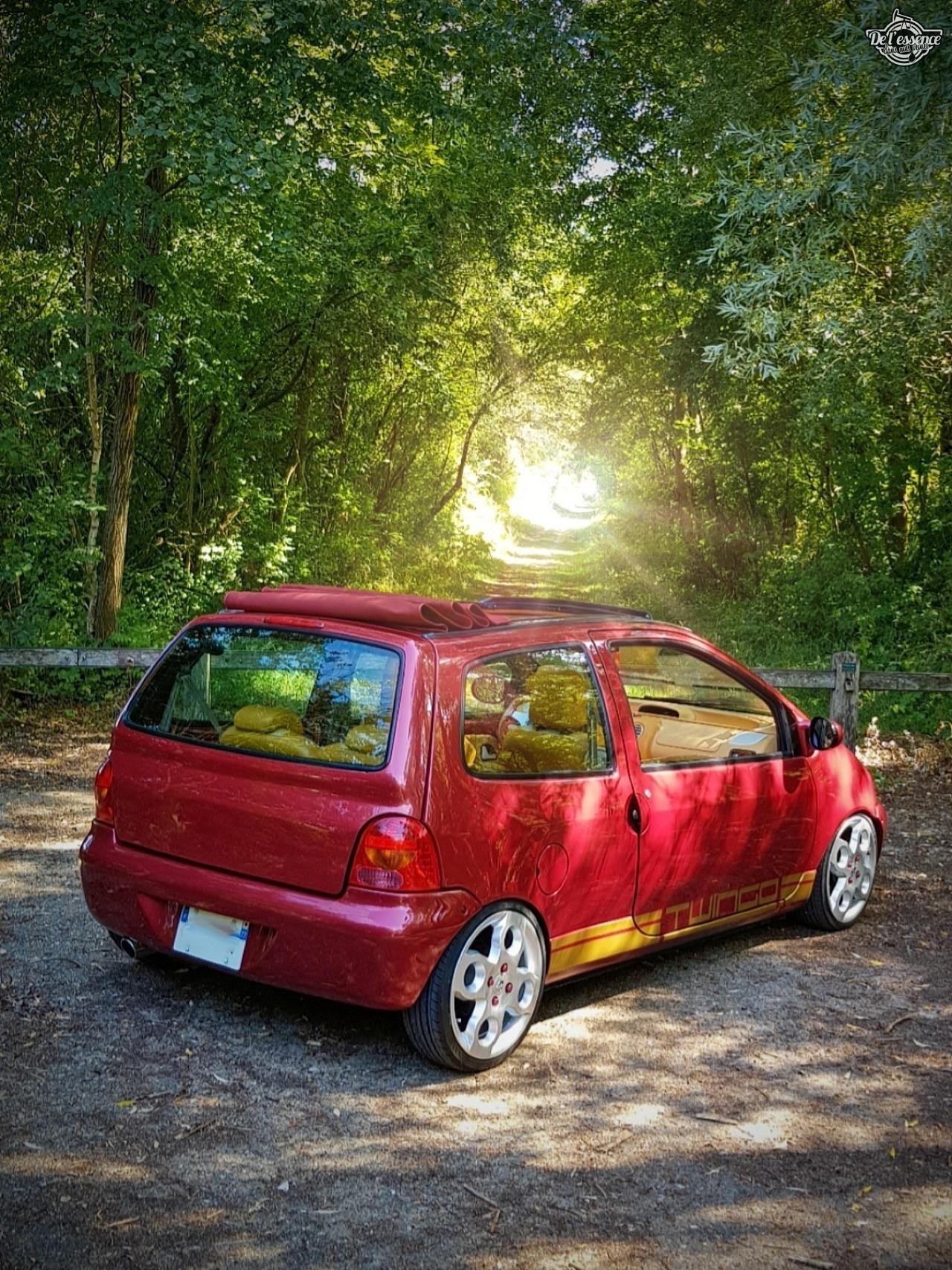 Renault Twingo - En rouge et or ! 14