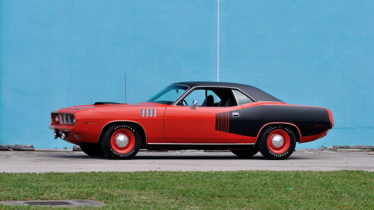 Plymouth HemiCuda 1971 - Cette fois elle sort pas de conteneur ! 2