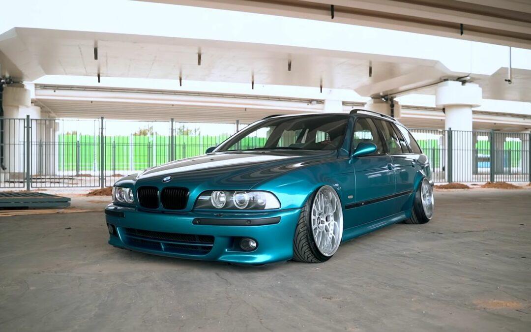 BMW M5 E39 Touring sur air… Quoi ça existe pas ?!