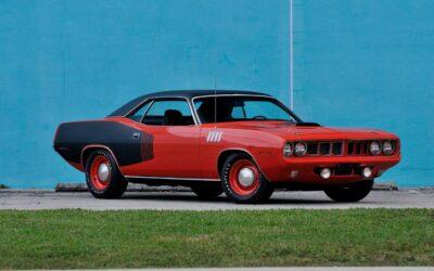 Plymouth HemiCuda 1971 – Cette fois elle sort pas de conteneur !