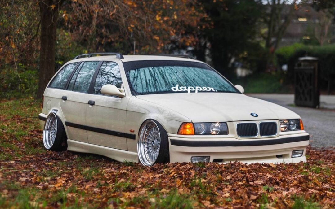 BMW E36 Touring – De l'air et du swap !