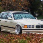 BMW E36 Touring - De l'air et du swap !