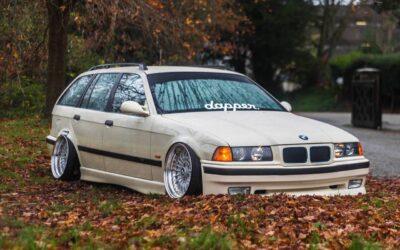 BMW E36 Touring – De l'air et du swap !