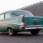 Chevrolet 210 2 Doors Sedan de 1957 en LS1 – Tout ça pour une ceinture…