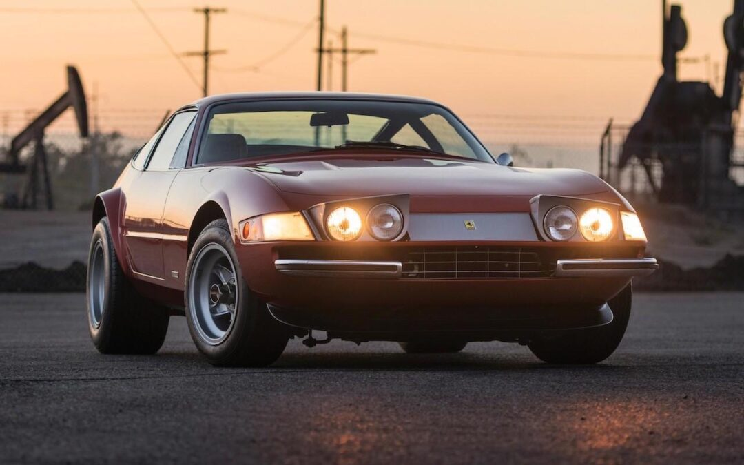 '71 Ferrari Daytona… sauce hot rod !