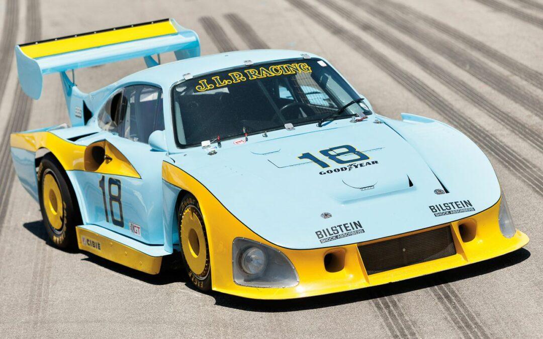 Porsche 935 : Parfois, c'est la baleine qui chasse !