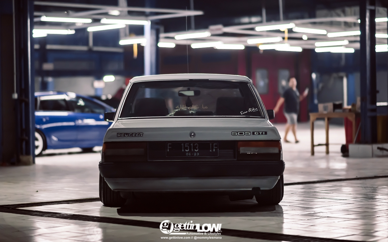 '88 PEUGEOT 505 GTi - Go To Indonesia ! 4