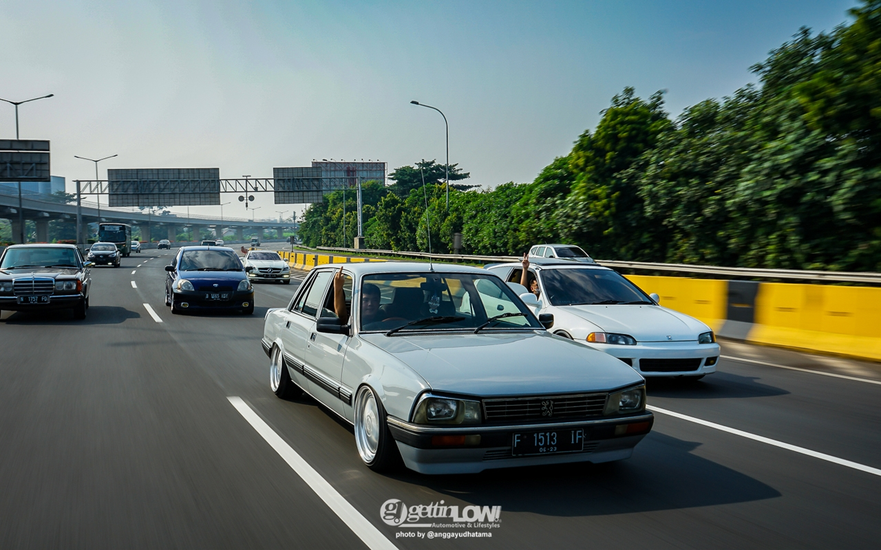 '88 PEUGEOT 505 GTi - Go To Indonesia ! 7