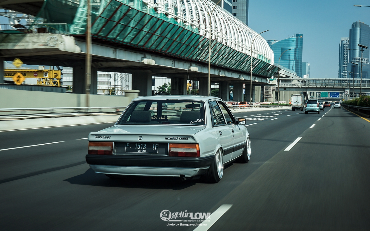 '88 PEUGEOT 505 GTi - Go To Indonesia ! 1