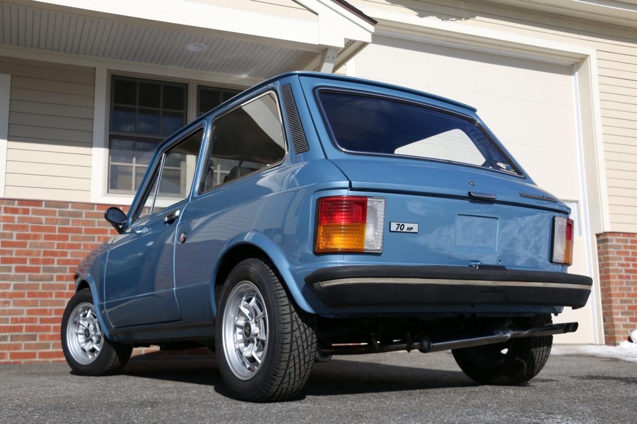 '77 Autobianchi A112 Abarth... Une GTi sans le i ! 2