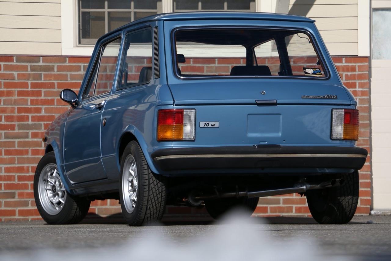 '77 Autobianchi A112 Abarth... Une GTi sans le i ! 14