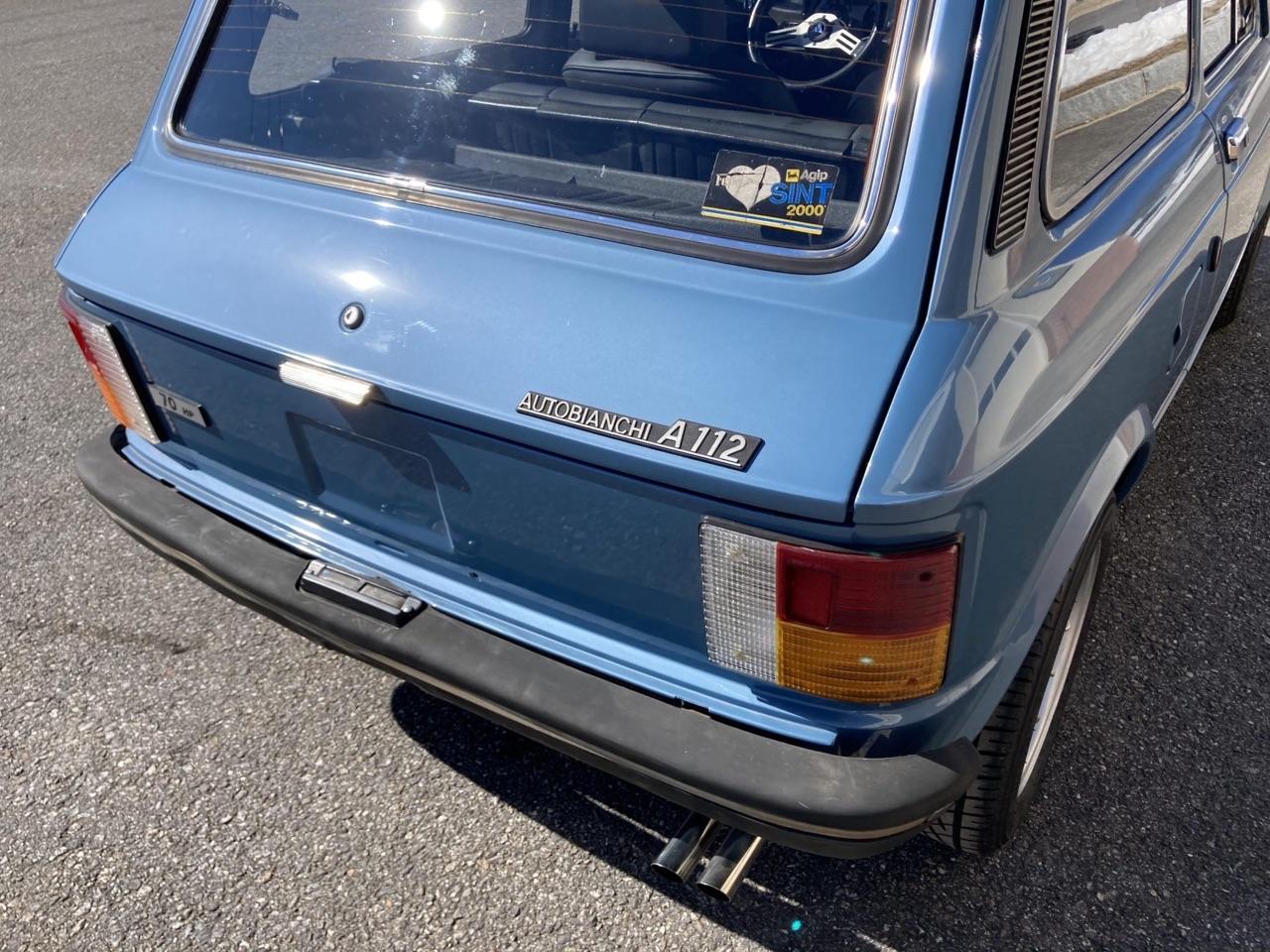 '77 Autobianchi A112 Abarth... Une GTi sans le i ! 13