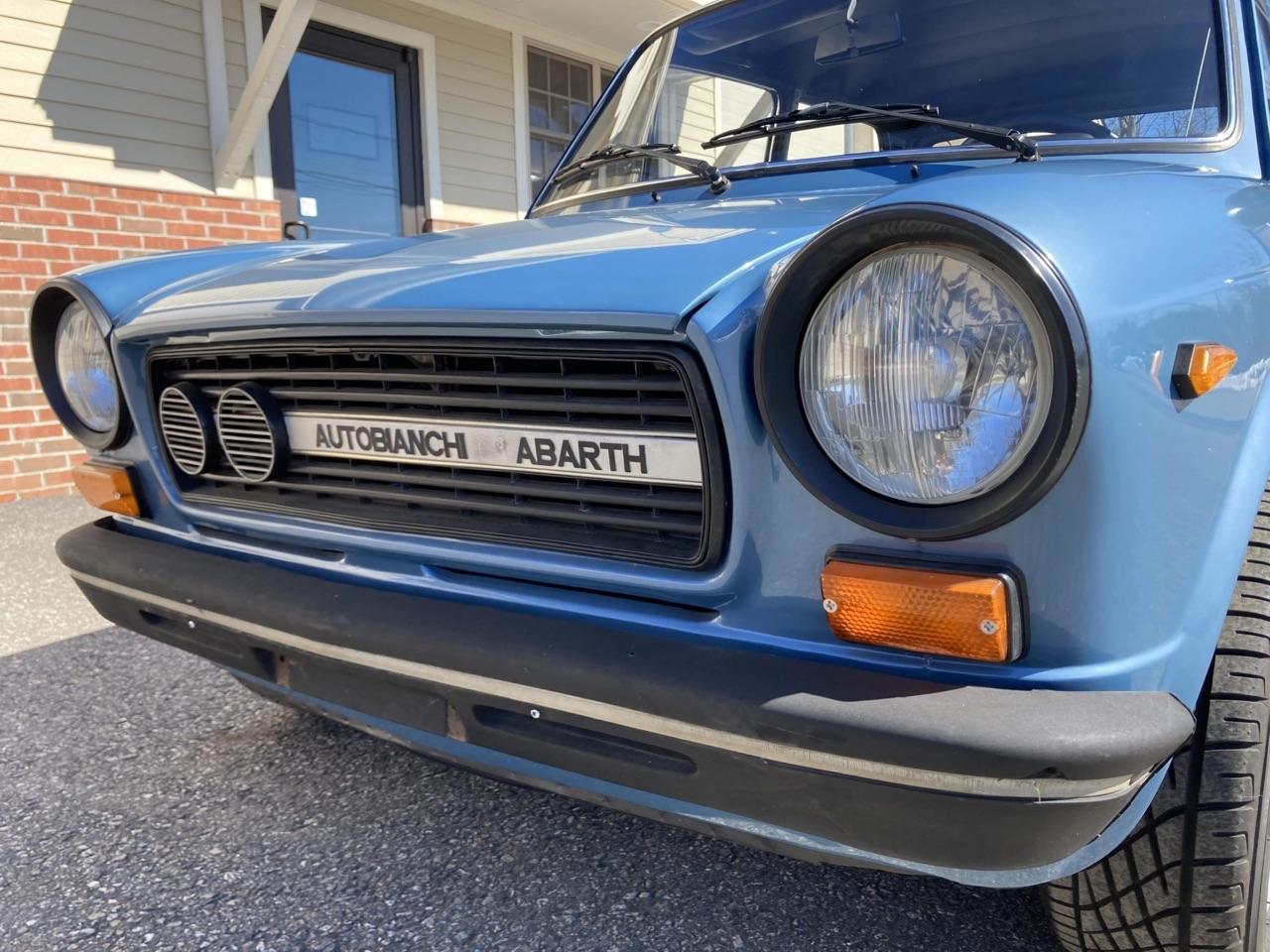 '77 Autobianchi A112 Abarth... Une GTi sans le i ! 6