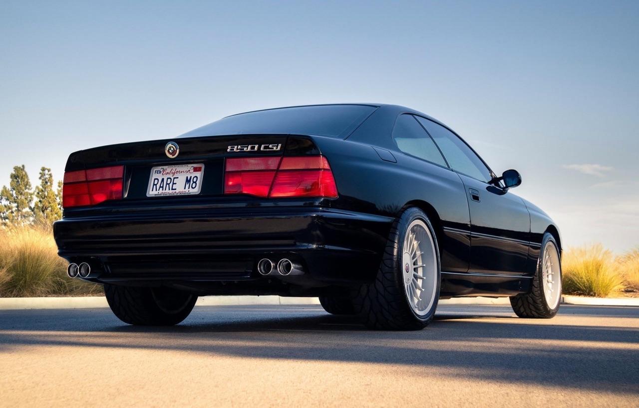 BMW 850 CSi - Elle en aurait mérité plus ! 5