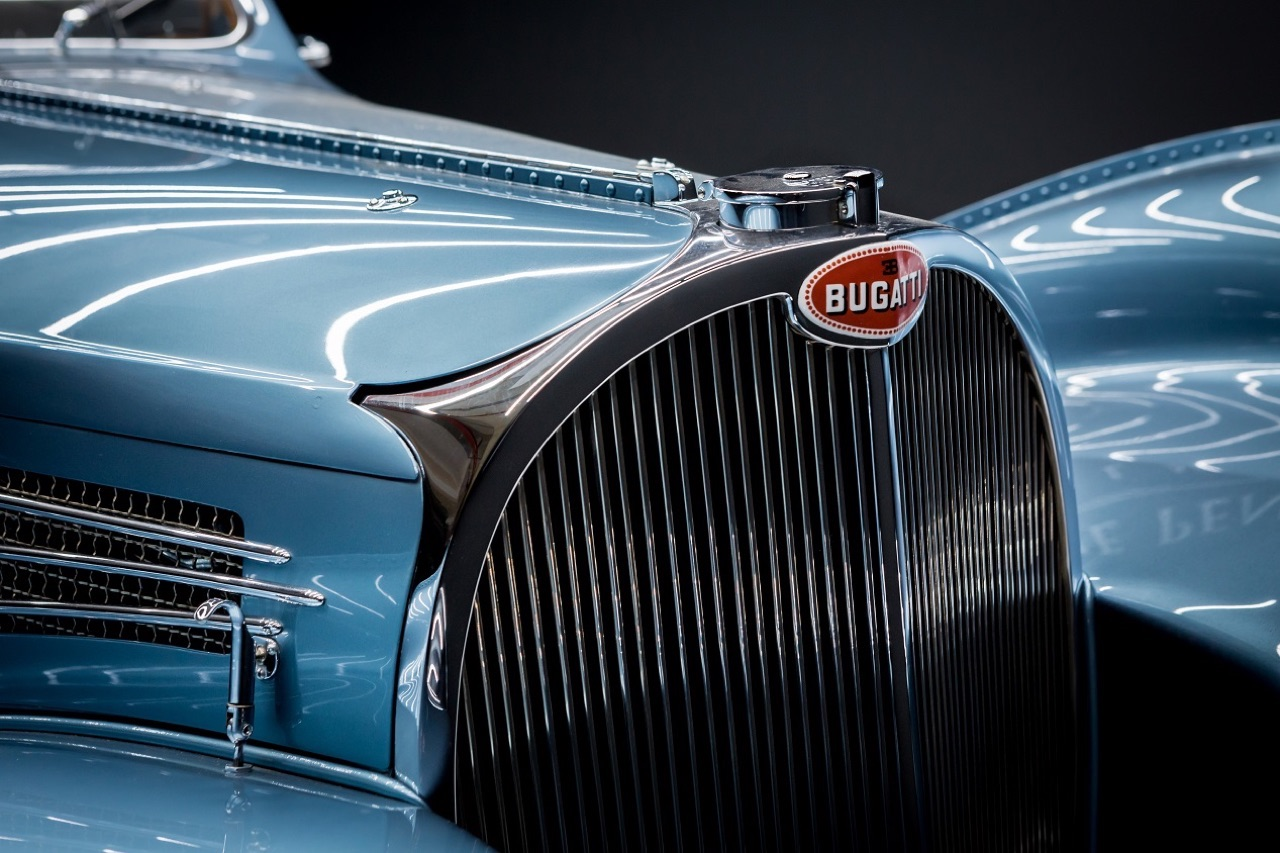 Bugatti Type 57 Aérolithe... ou appelez la Atlantic 8