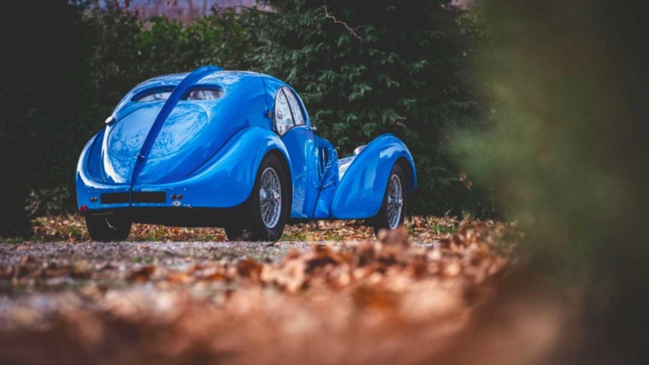 Bugatti Type 57 Aérolithe... ou appelez la Atlantic 17