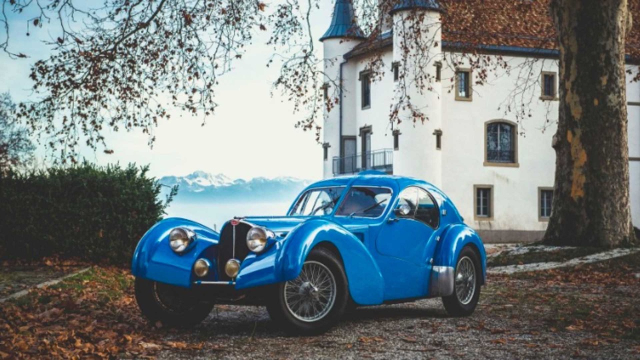 Bugatti Type 57 Aérolithe... ou appelez la Atlantic 4