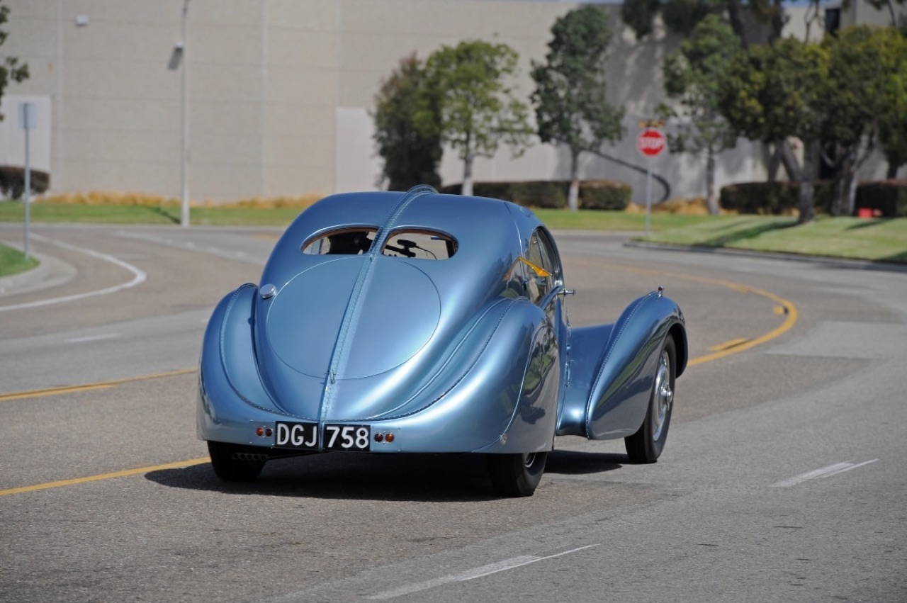 Bugatti Type 57 Aérolithe... ou appelez la Atlantic 3