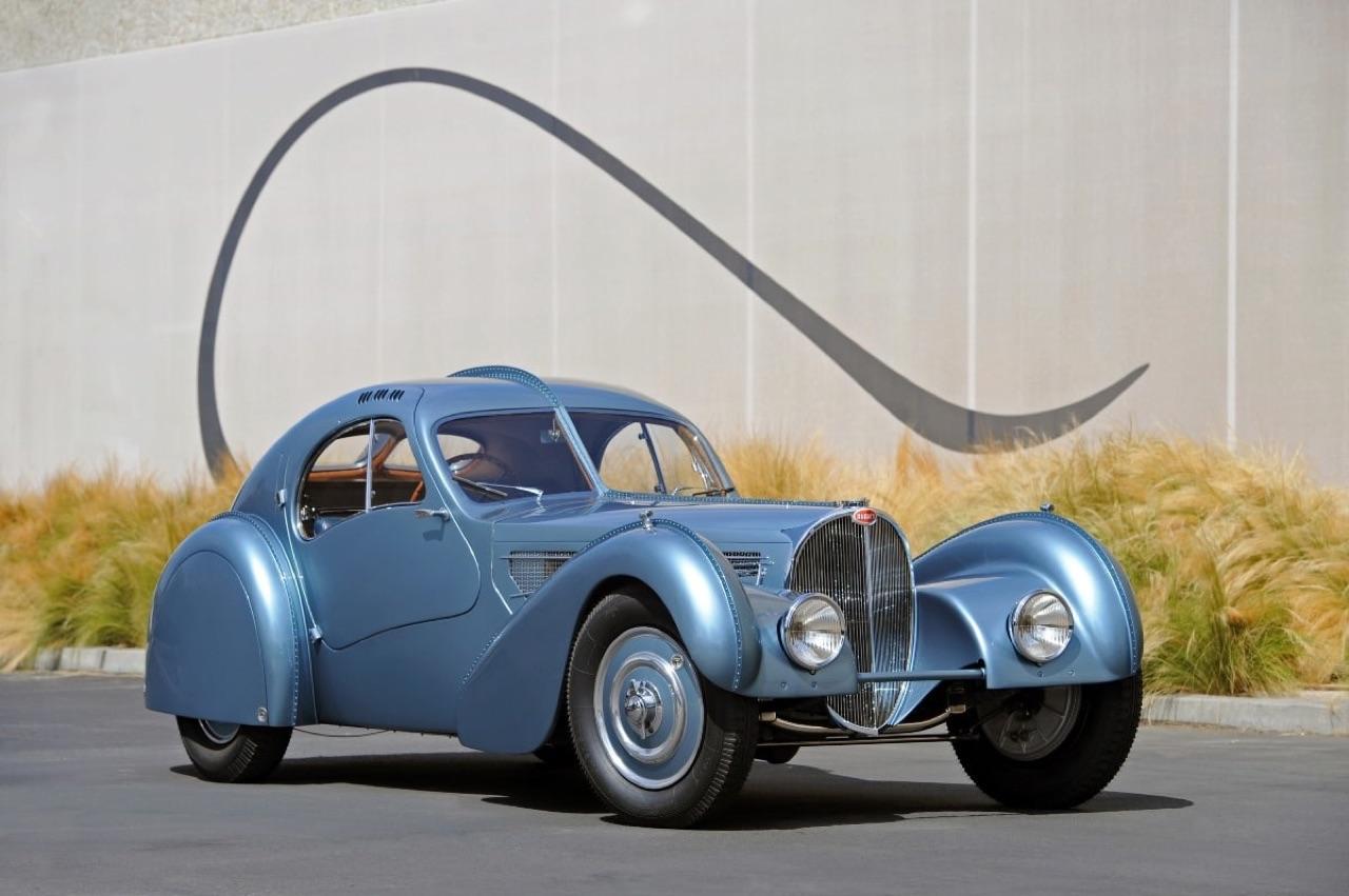 Bugatti Type 57 Aérolithe... ou appelez la Atlantic 5