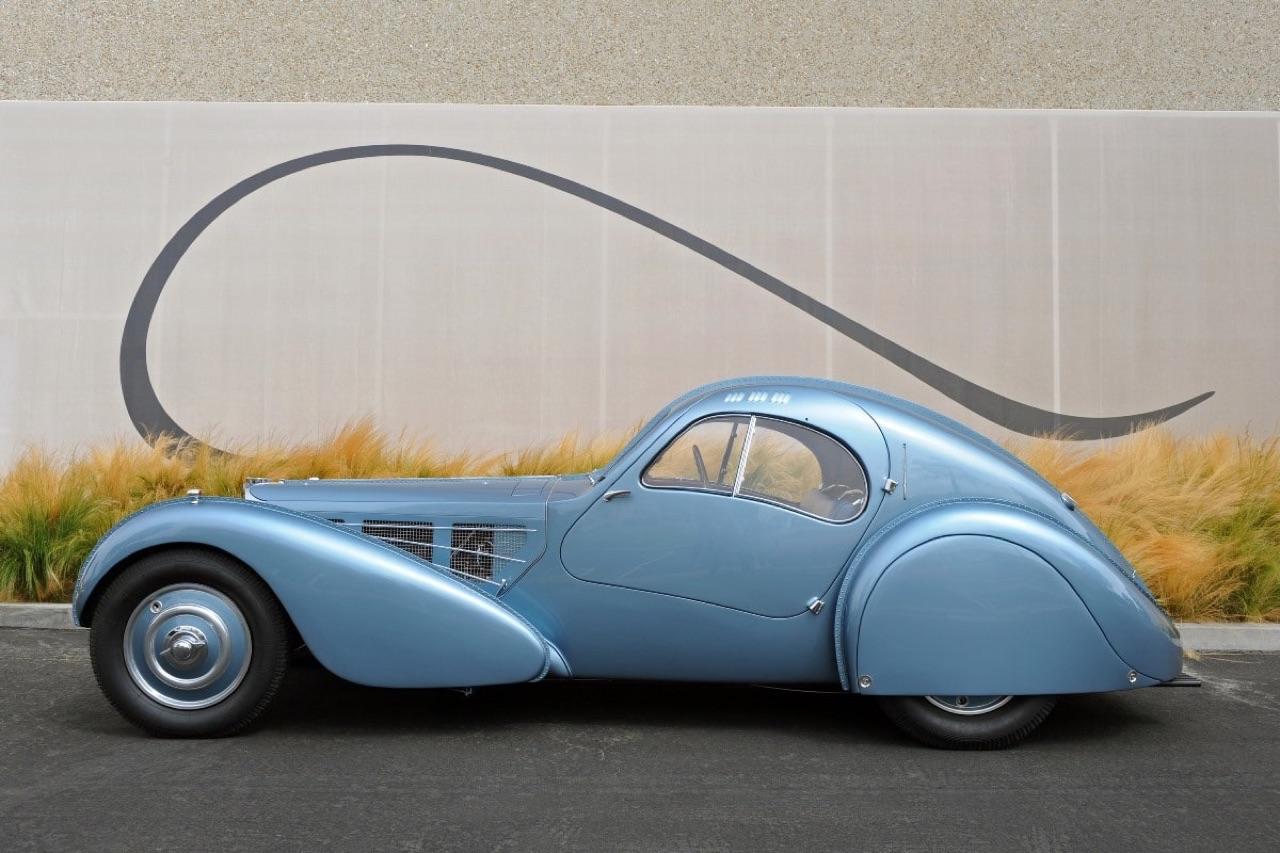 Bugatti Type 57 Aérolithe... ou appelez la Atlantic 6