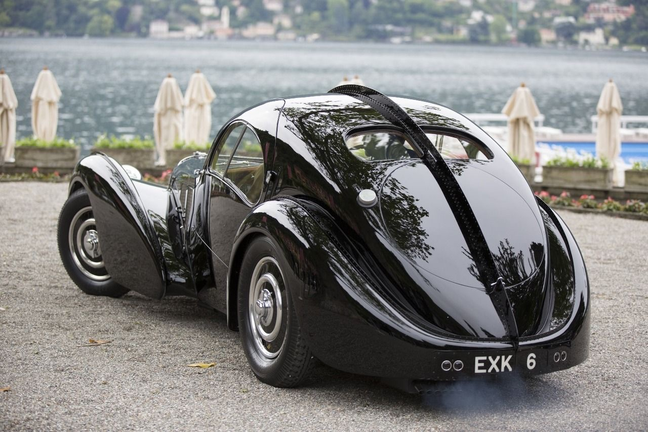 Bugatti Type 57 Aérolithe... ou appelez la Atlantic 15
