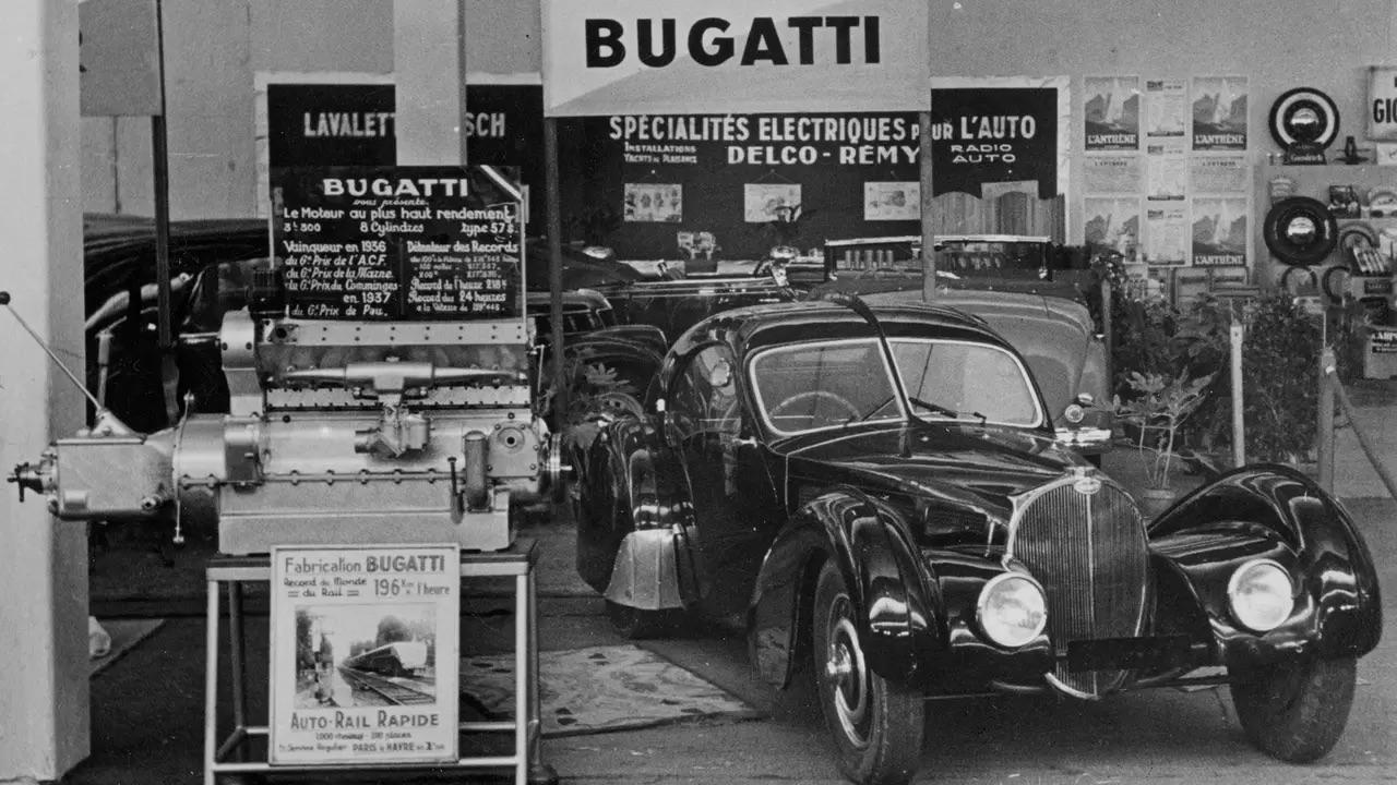 Bugatti Type 57 Aérolithe... ou appelez la Atlantic 12