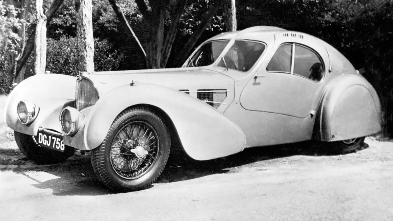 Bugatti Type 57 Aérolithe... ou appelez la Atlantic 7