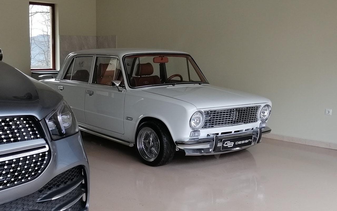 AvtoVAZ Lada 2101... A moins que ce soit une Bentley ! 1