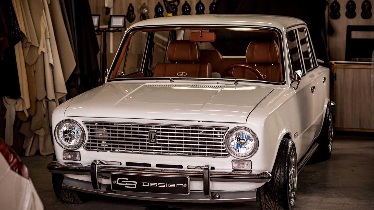 AvtoVAZ Lada 2101... A moins que ce soit une Bentley ! 2
