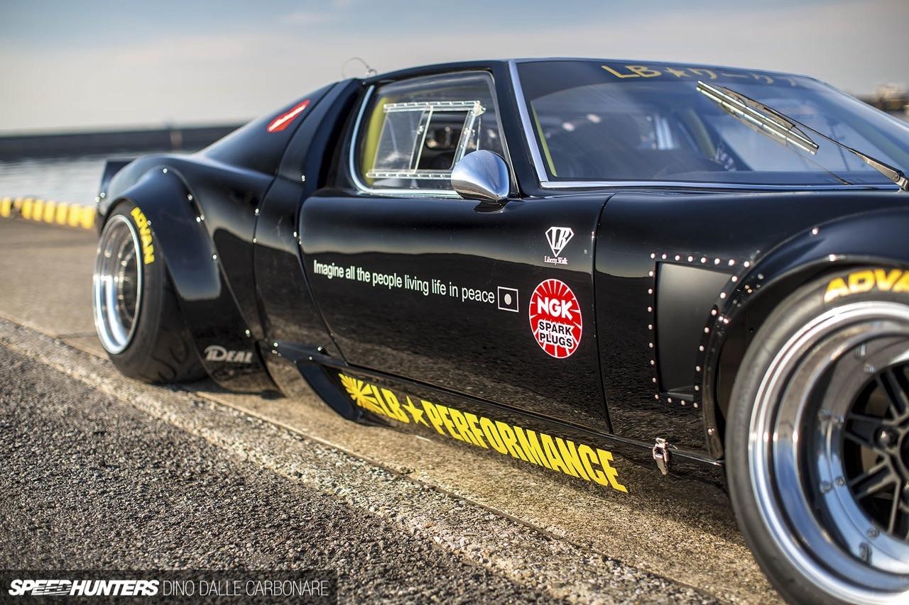 Lamborghini Miura - Quand Liberty Walk s'en mêle ! 56