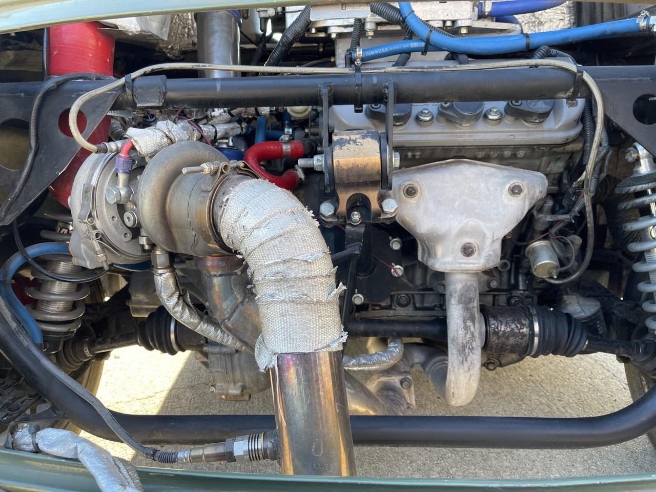 '75 Mini 1275 GT Clubman en V6 Turbo central arrière - Proto 100% vénèr ! 4