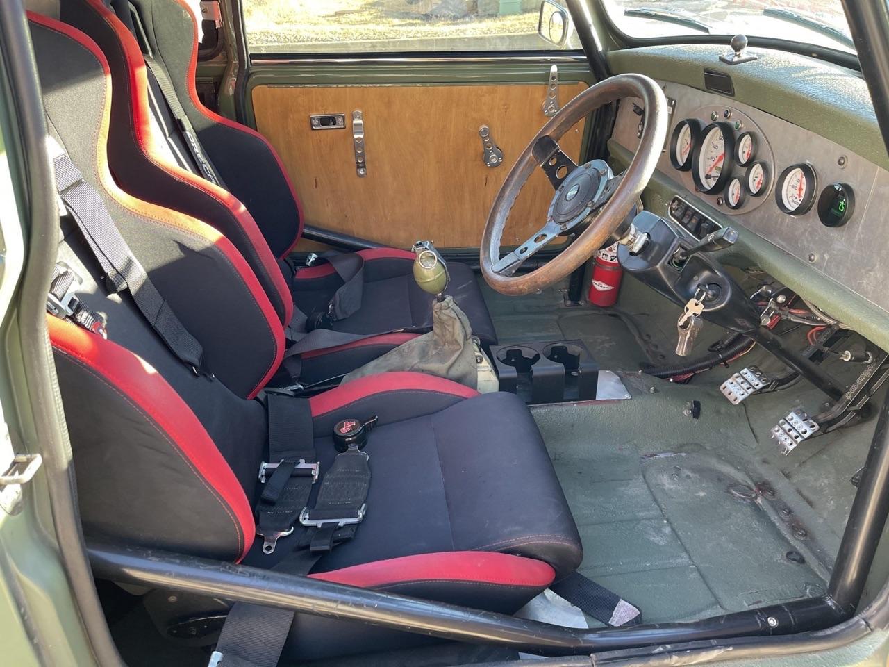 '75 Mini 1275 GT Clubman en V6 Turbo central arrière - Proto 100% vénèr ! 7