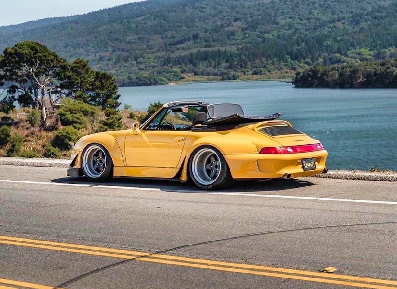 Porsche 993 Cab' RWB... et en plus, elle est jaune ! 7